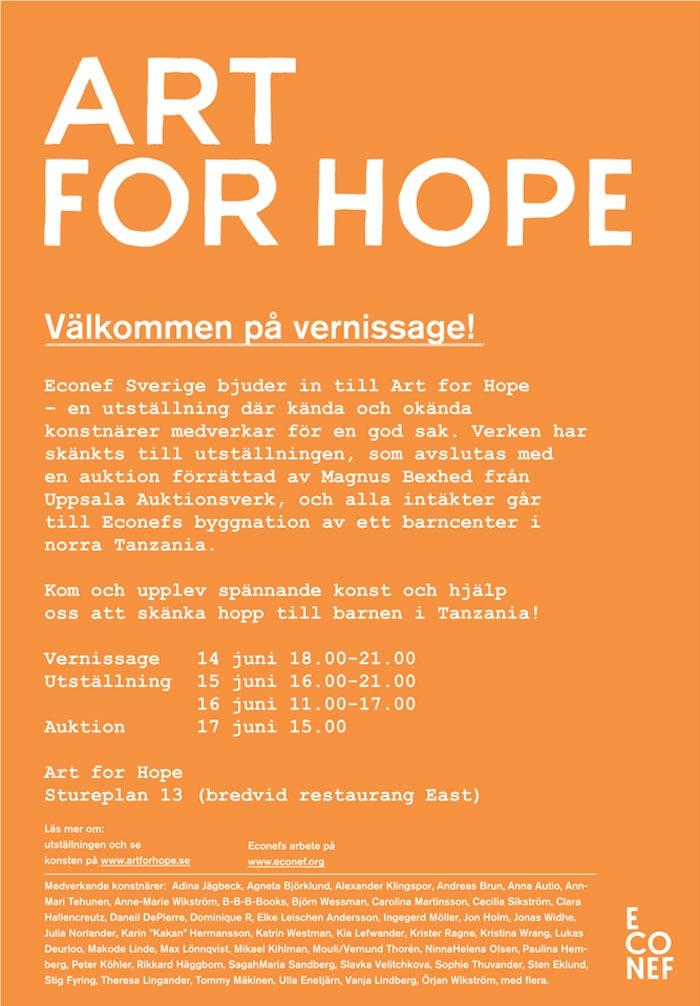 Art-For-Hope-inbjudan