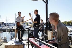 Eddie and the Lovemakers förgyllde dagen med sin ljuva musik!