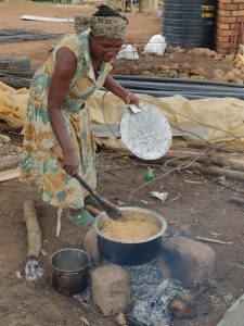 Mama Godi makes Pilau