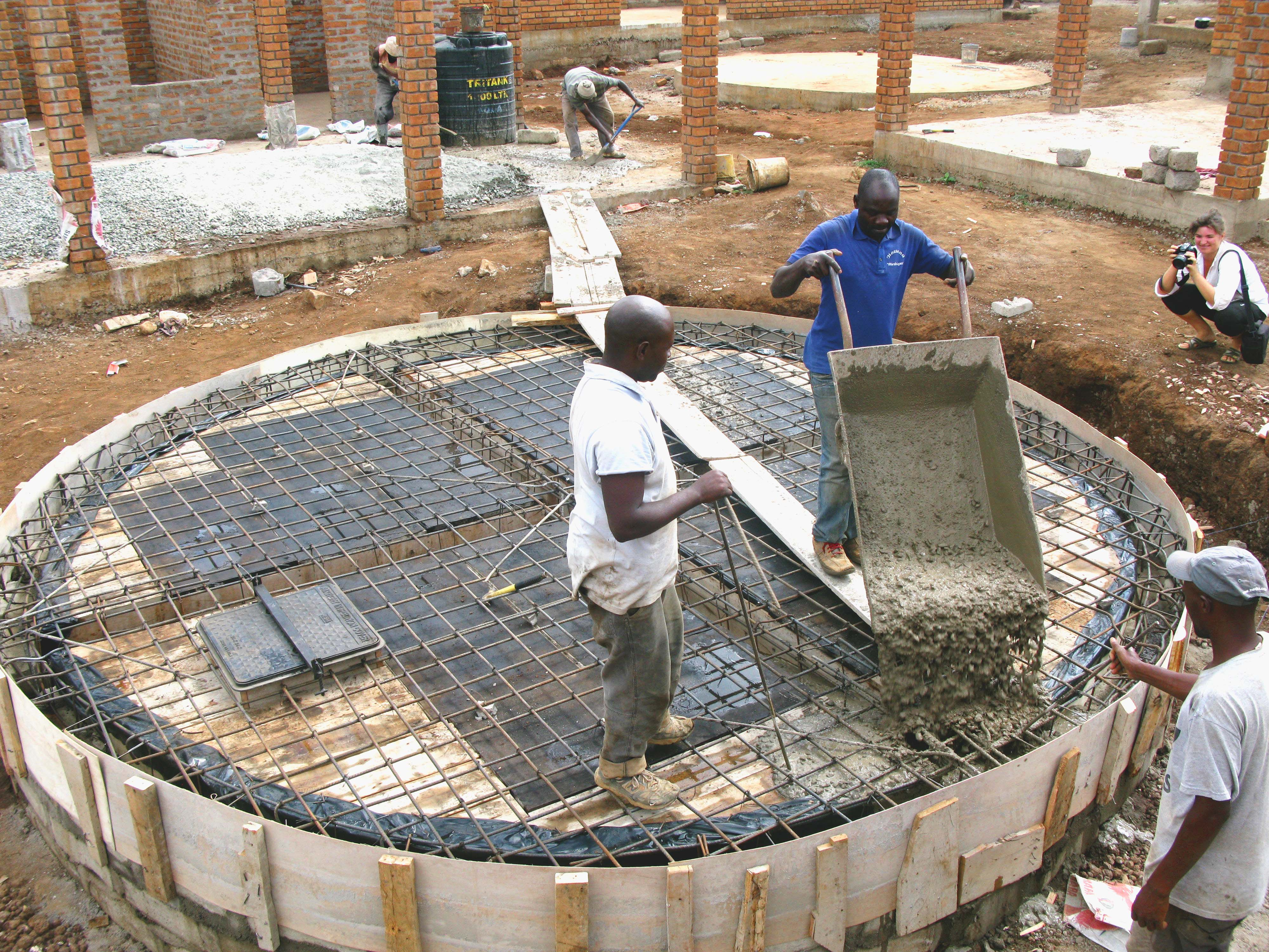 Water tank completed | Econef
