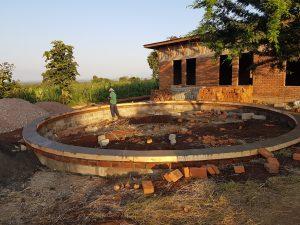 Gråvattenträdgård nästan klar
